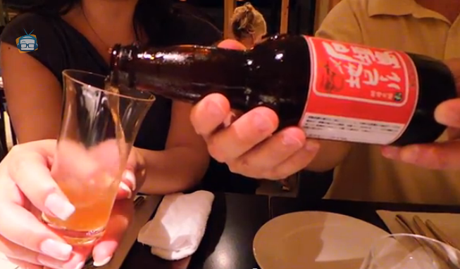 Pouring Beer on Geek Beat Vlog 28