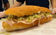Sub Sandwich on Geek Beat Vlog 52