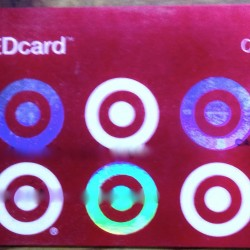 Target REDcard Front