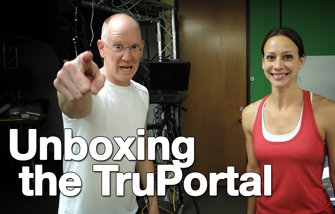 TruPortal Access System unboxing