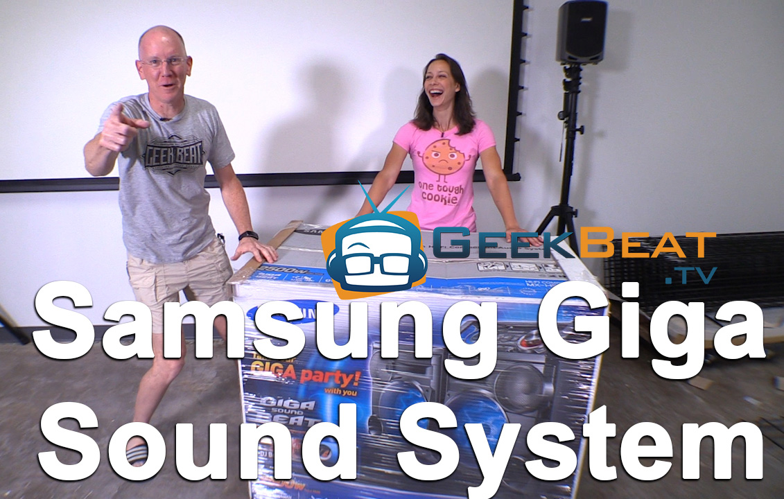Unboxing Samsung Giga Sound System