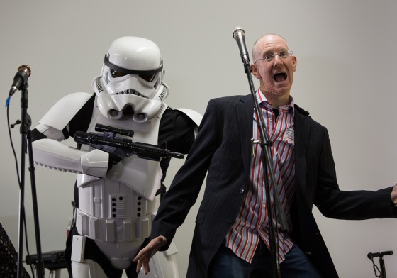 John P vs. the Stormtrooper