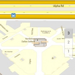 Google Indoor Map Dallas Galleria 3rd Floor