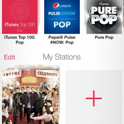 iOS7- iTunes Radio Stations