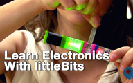 littleBits at CE Line Shows 2013