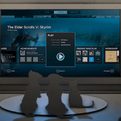 Valve's Big Picture Aims to Move Steam Gaming Into the Living Room