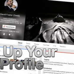 Set Up your Google+ Profile