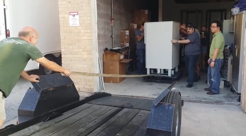 Moving the UPS