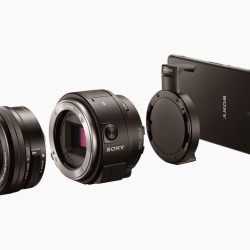 IFA 2014: Sony Announces Clip On Interchangeable Lens System for Phones, 4K Projector