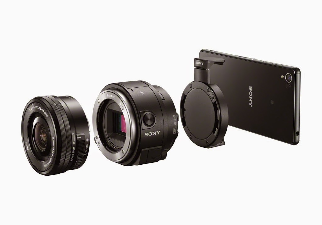 Sony-ILCE-QX-1-camera