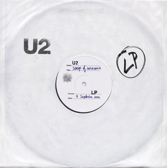 U2 - Songs of Innocence cover