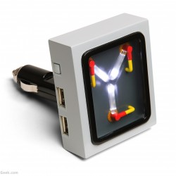 flux-capacitor-car-charger