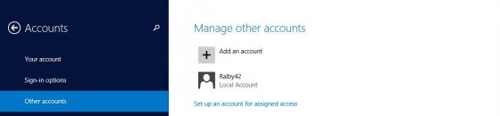 1 - Manage other accounts