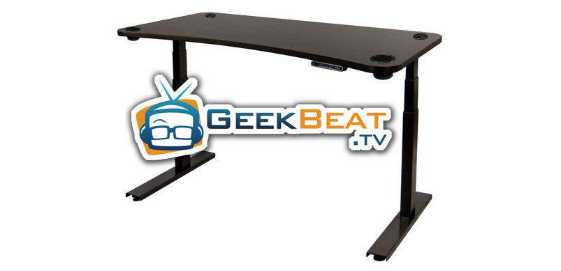 Geek Beat UpDesk - Black