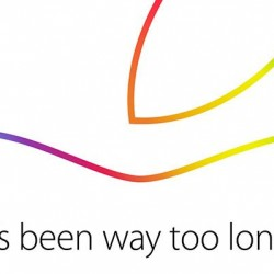 Invite for Apple Event on October 16