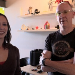 John P and Cali Lewis on GeekBeat Episode 921