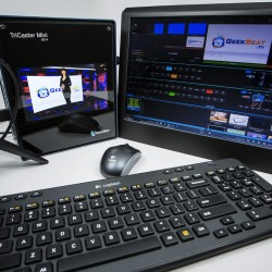 TriCaster Mini on GeekBeat Episode 914