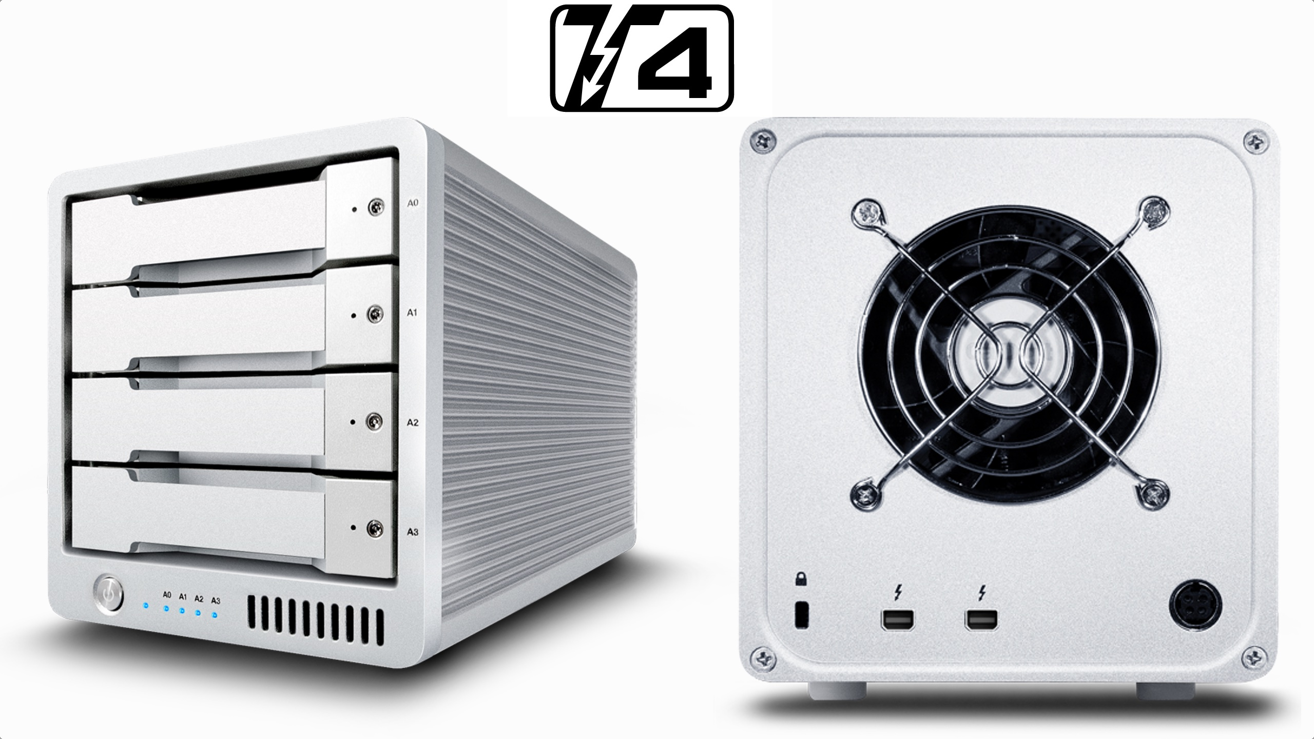 Caldigit-t4-thunderbolt2-raid-array