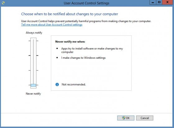 Never Notify Win 8_1