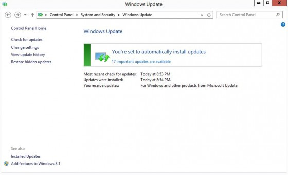 Windows Update 1
