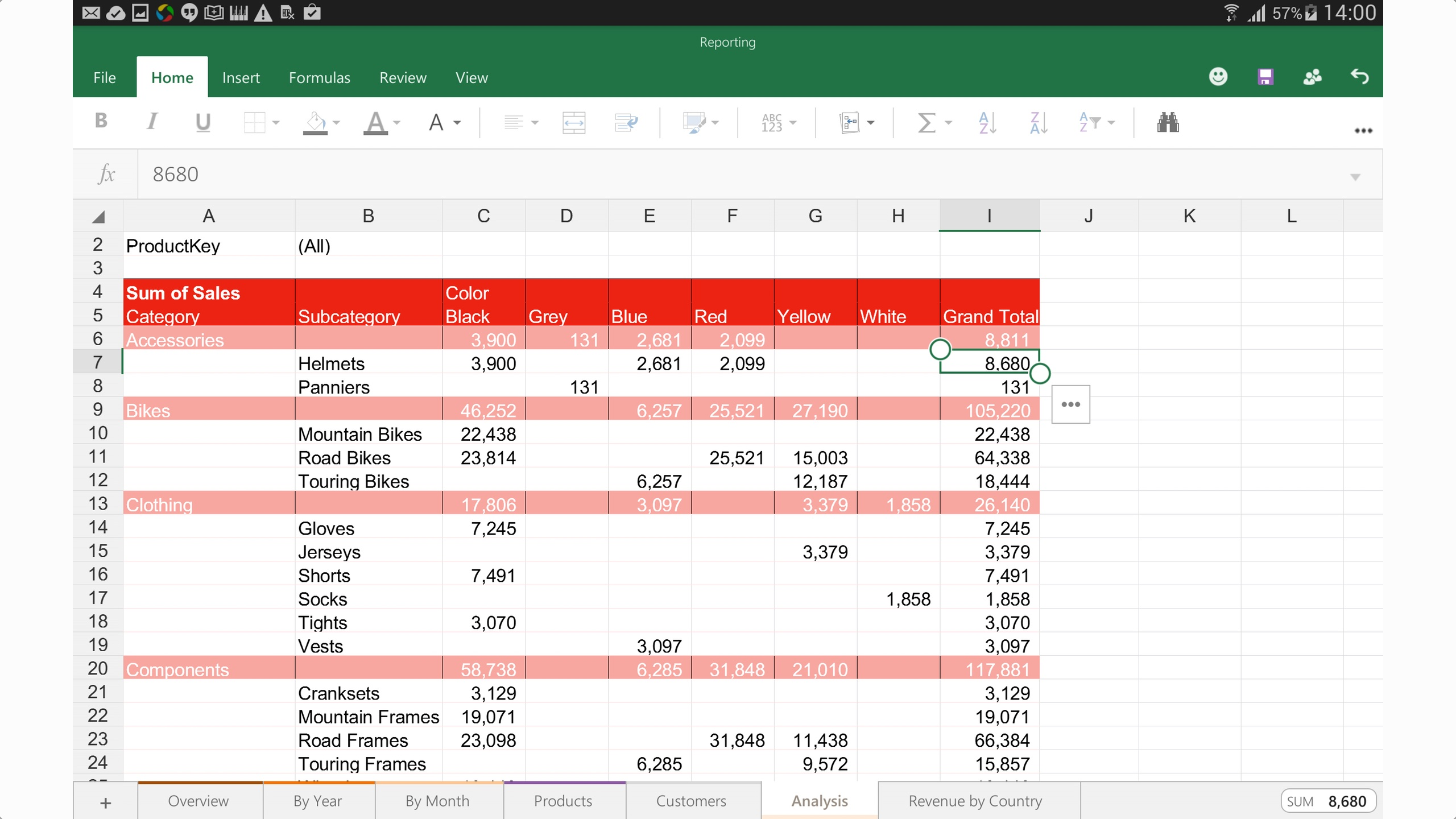 microsoft-office-android-excel