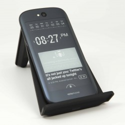 YotaPhone 2 Rear on Charger