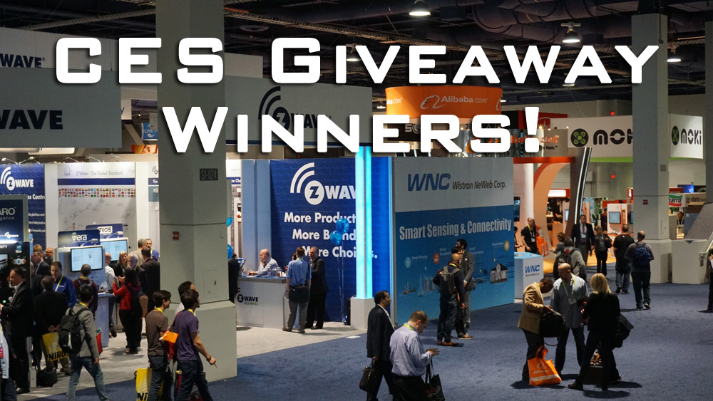CES 2015 Giveaway Winners