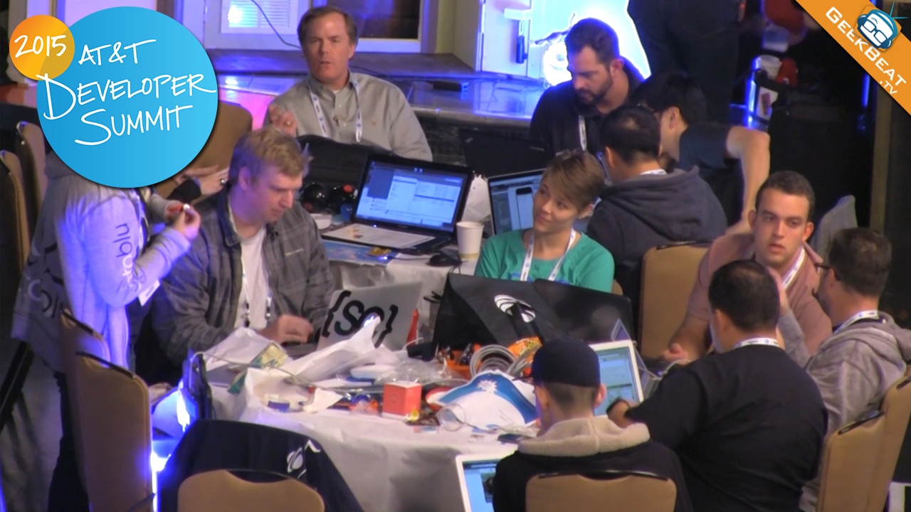 Developers at Hackathon