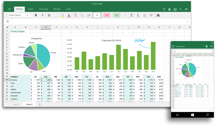 Microsoft Office 2016 Excel
