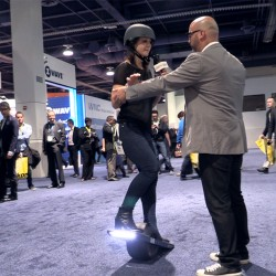 Onewheel at CES 2015
