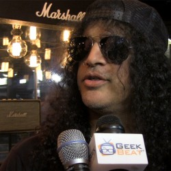 Slash of Guns N' Roses - Interview