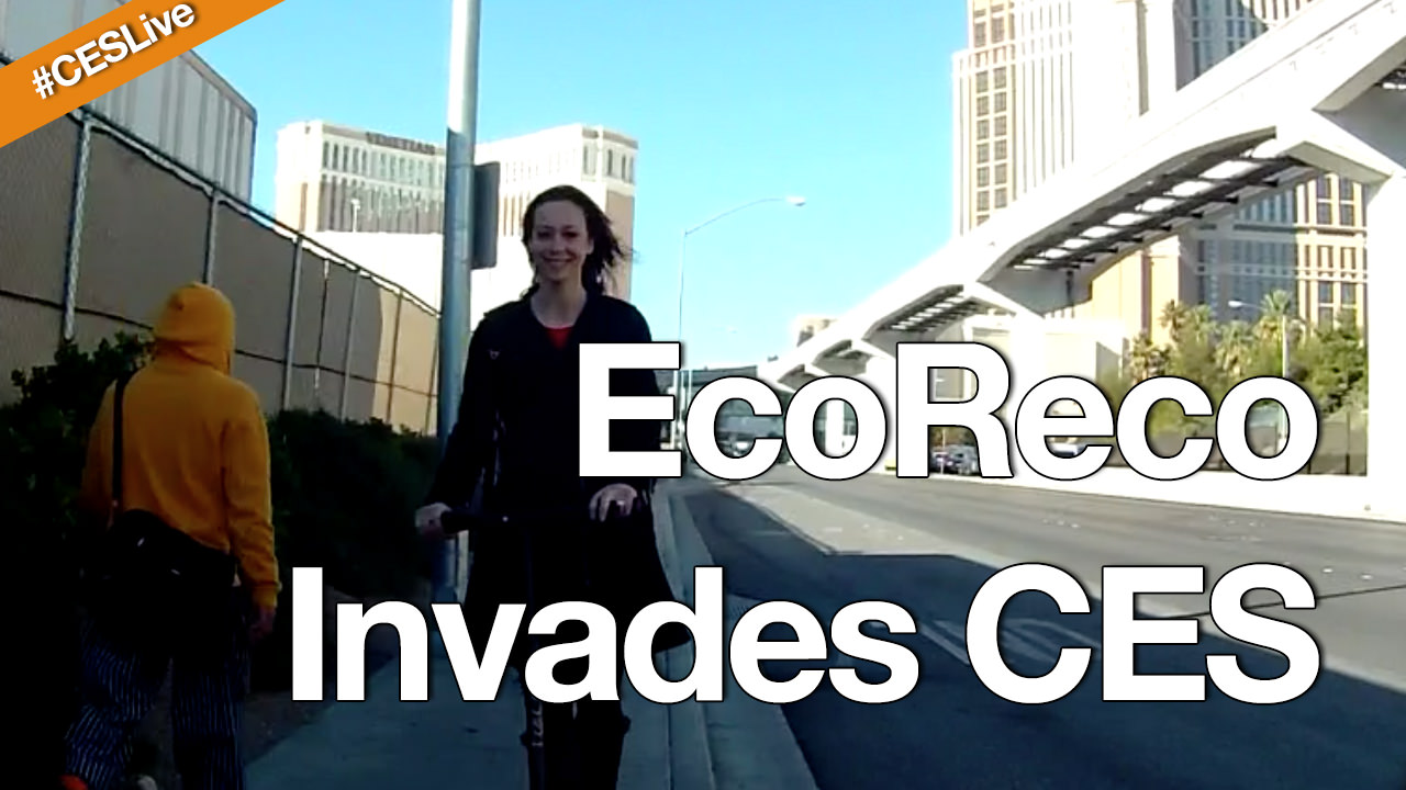 EcoReco Scooters in Vegas