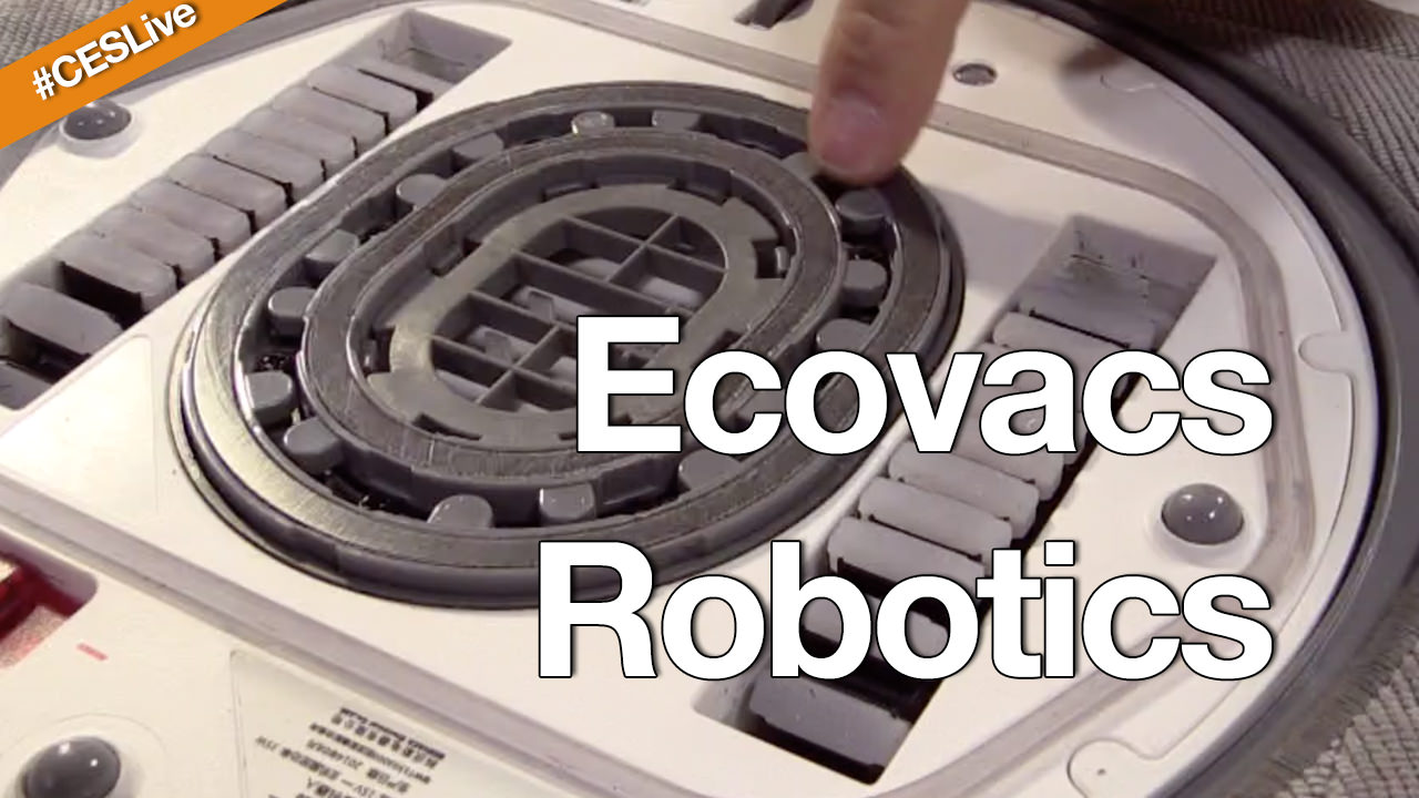 Ecovacs at CES 2015