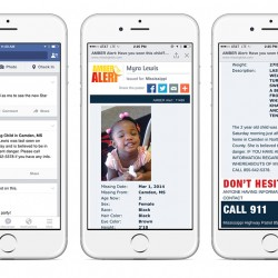 Facebook to Feature Missing Children Alerts