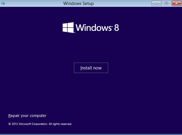 Install Windows second