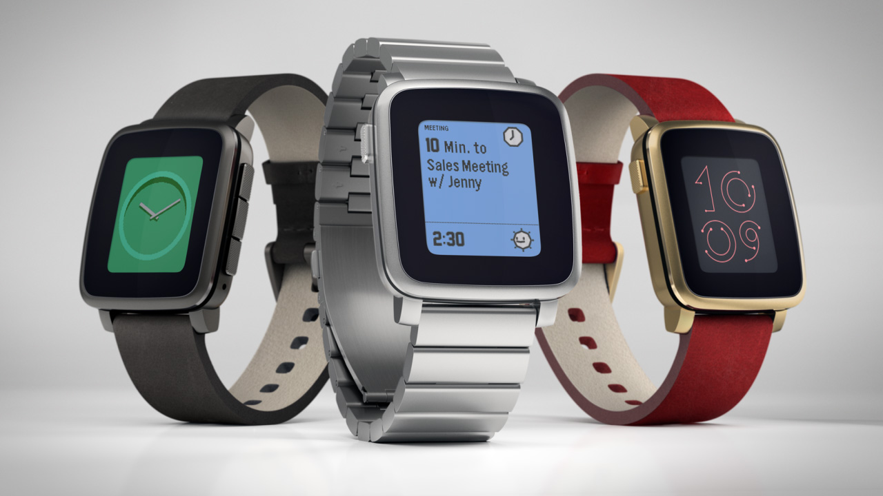 Pebble Time Models