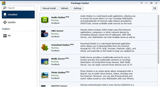Synology Router Apps