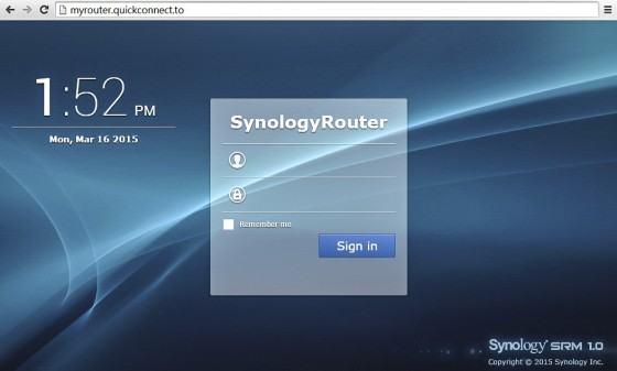 Synology Router Login