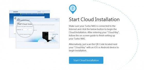 Start Cloud installation