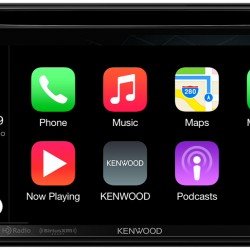 KENWOOD's Two New Multimedia Receivers With Apple® CarPlay®