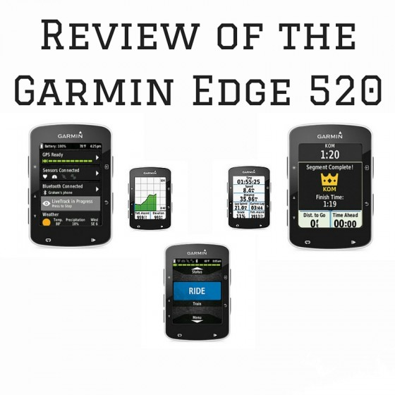 Review of the Garmin Edge 520