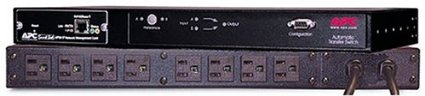 An Automatic Transfer Switch, like this from APC, can turn your singe power devices into a redundant power device.