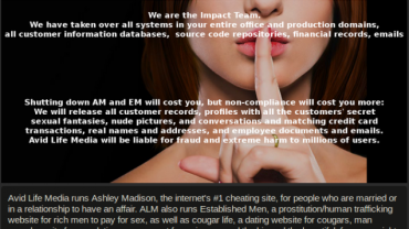 AshleyMadison Site Hack